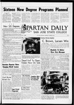 Spartan Daily, October 20, 1965 by San Jose State University, School of Journalism and Mass Communications
