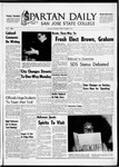 Spartan Daily, October 29, 1965 by San Jose State University, School of Journalism and Mass Communications