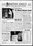 Spartan Daily, January 17, 1966 by San Jose State University, School of Journalism and Mass Communications