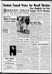 Spartan Daily, May 12, 1966 by San Jose State University, School of Journalism and Mass Communications
