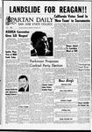 Spartan Daily, November 9, 1966