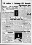 Spartan Daily, November 15, 1966 by San Jose State University, School of Journalism and Mass Communications