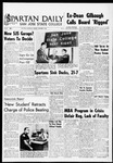 Spartan Daily, October 3, 1966 by San Jose State University, School of Journalism and Mass Communications