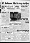 Spartan Daily, October 5, 1966 by San Jose State University, School of Journalism and Mass Communications