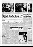 Spartan Daily, October 10, 1966 by San Jose State University, School of Journalism and Mass Communications