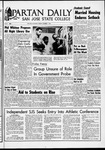 Spartan Daily, October 11, 1966 by San Jose State University, School of Journalism and Mass Communications