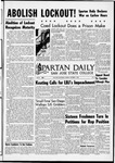 Spartan Daily, October 17, 1966 by San Jose State University, School of Journalism and Mass Communications