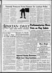 Spartan Daily, October 20, 1966 by San Jose State University, School of Journalism and Mass Communications