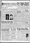 Spartan Daily, October 25, 1966