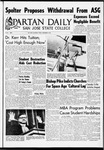 Spartan Daily, September 30, 1966 by San Jose State University, School of Journalism and Mass Communications