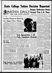 Spartan Daily, January 6, 1967 by San Jose State University, School of Journalism and Mass Communications