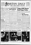 Spartan Daily, November 3, 1967 by San Jose State University, School of Journalism and Mass Communications