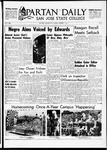 Spartan Daily, November 7, 1967 by San Jose State University, School of Journalism and Mass Communications