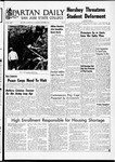 Spartan Daily, November 9, 1967 by San Jose State University, School of Journalism and Mass Communications
