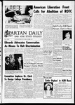 Spartan Daily, October 3, 1967 by San Jose State University, School of Journalism and Mass Communications