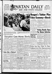 Spartan Daily, October 18, 1967 by San Jose State University, School of Journalism and Mass Communications