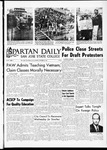 Spartan Daily, October 23, 1967 by San Jose State University, School of Journalism and Mass Communications