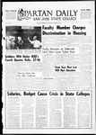 Spartan Daily, September 18, 1967 by San Jose State University, School of Journalism and Mass Communications