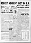 Spartan Daily, June 5, 1968 by San Jose State University, School of Journalism and Mass Communications