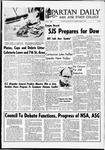 Spartan Daily, March 7, 1968