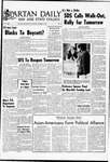 Spartan Daily, November 19, 1968