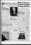 Spartan Daily, October 18, 1968 by San Jose State University, School of Journalism and Mass Communications