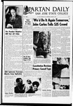 Spartan Daily, October 23, 1968 by San Jose State University, School of Journalism and Mass Communications