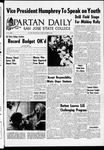 Spartan Daily, October 25, 1968 by San Jose State University, School of Journalism and Mass Communications