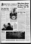 Spartan Daily, October 28, 1968