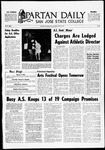 Spartan Daily, April 15, 1969 by San Jose State University, School of Journalism and Mass Communications