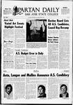 Spartan Daily, April 18, 1969 by San Jose State University, School of Journalism and Mass Communications