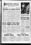 Spartan Daily, April 24, 1969 by San Jose State University, School of Journalism and Mass Communications