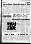 Spartan Daily, April 25, 1969 by San Jose State University, School of Journalism and Mass Communications