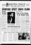 Spartan Daily, February 24, 1969 by San Jose State University, School of Journalism and Mass Communications