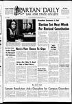 Spartan Daily, February 25, 1969