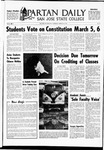 Spartan Daily, February 26, 1969 by San Jose State University, School of Journalism and Mass Communications