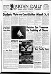Spartan Daily, February 26, 1969