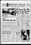 Spartan Daily, January 9, 1969 by San Jose State University, School of Journalism and Mass Communications