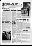Spartan Daily, January 10, 1969 by San Jose State University, School of Journalism and Mass Communications