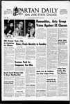 Spartan Daily, March 3, 1969 by San Jose State University, School of Journalism and Mass Communications