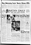 Spartan Daily, March 13, 1969 by San Jose State University, School of Journalism and Mass Communications
