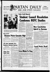 Spartan Daily, March 21, 1969 by San Jose State University, School of Journalism and Mass Communications