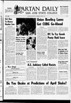 Spartan Daily, March 26, 1969 by San Jose State University, School of Journalism and Mass Communications