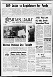 Spartan Daily, May 9, 1969 by San Jose State University, School of Journalism and Mass Communications