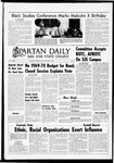 Spartan Daily, May 16, 1969 by San Jose State University, School of Journalism and Mass Communications