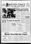Spartan Daily, May 19, 1969 by San Jose State University, School of Journalism and Mass Communications
