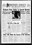 Spartan Daily, May 27, 1969