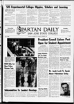 Spartan Daily, November 6, 1969 by San Jose State University, School of Journalism and Mass Communications