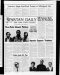 Spartan Daily, November 10, 1969 by San Jose State University, School of Journalism and Mass Communications