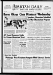 Spartan Daily, October 9, 1969 by San Jose State University, School of Journalism and Mass Communications
